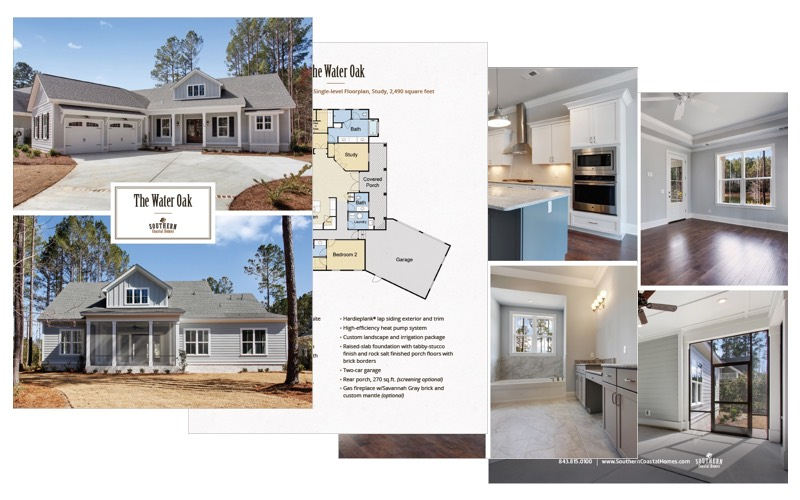 Water Oak Custom Home Plan