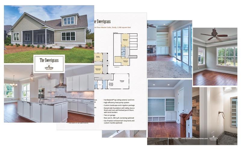 Custom Sweetgrass Home Plan