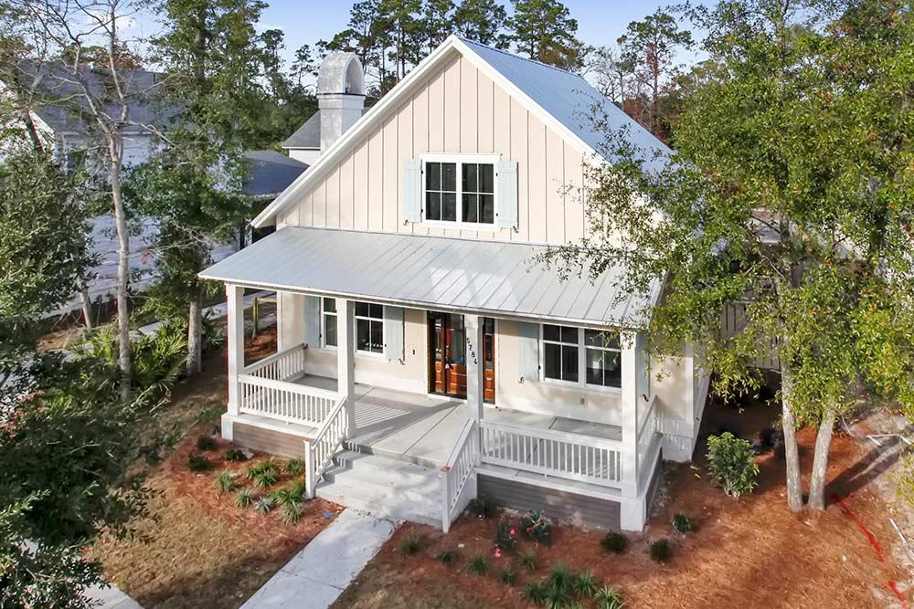 The yaupon home 4 southern coastal homes for Southern coastal homes